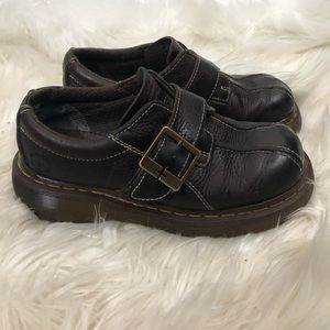 Dr. Martens Buckle Clog Size 6 Womens